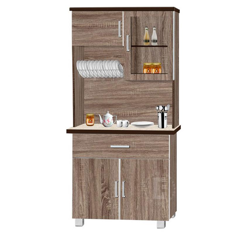 """Avina 32"""" Kitchen Cabinet + Top Storage"""