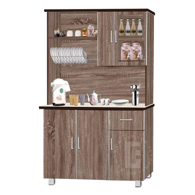 """Avina 48"""" Kitchen Cabinet + Top Storage"""