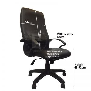 Custa High Back Office Chair For Sale