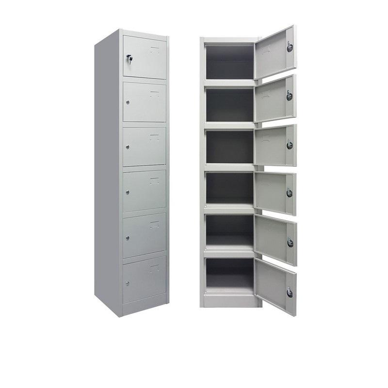 6 Door Metal Locker