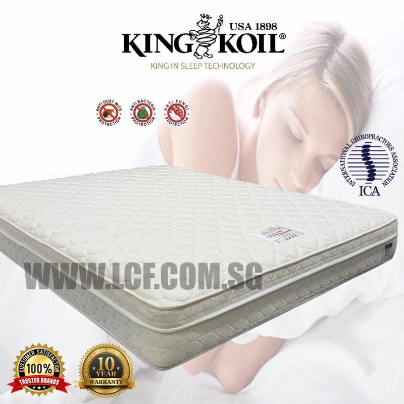 King Koil Posture Bond International Mattress Queen Size Lilian