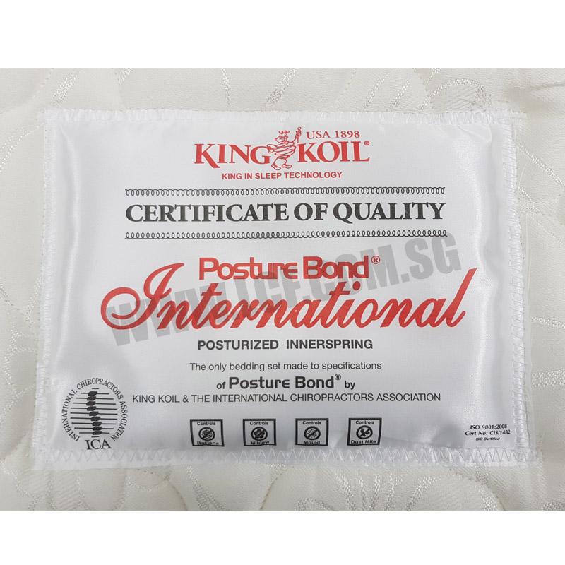 King Koil Posture Bond International Mattress Queen Size