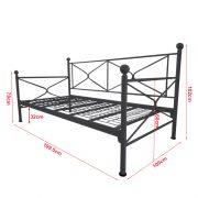 LEA-Lavina day bed-Black size