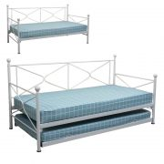 Lavina day bed+pullout-white1