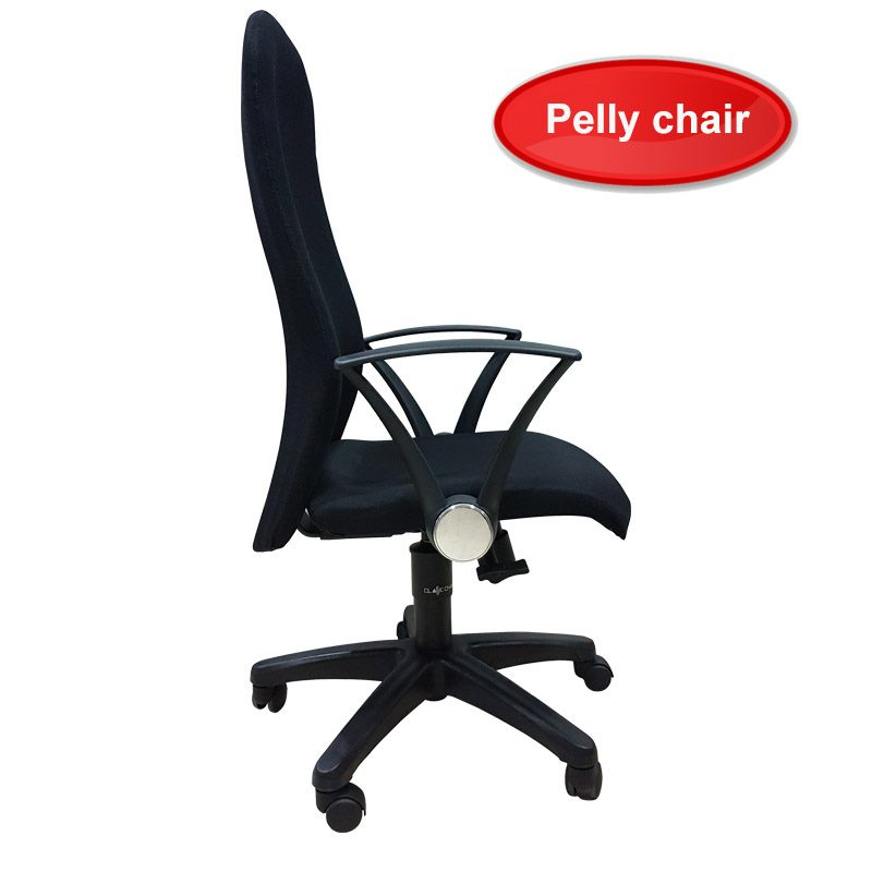 pelly high black office chairs