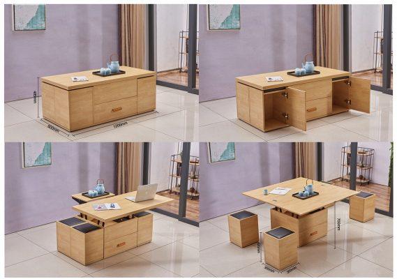 Multi Purpose Coffee Table 4 Storage Stool Lcf Furniture Store