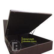 KB-Simple storage bed