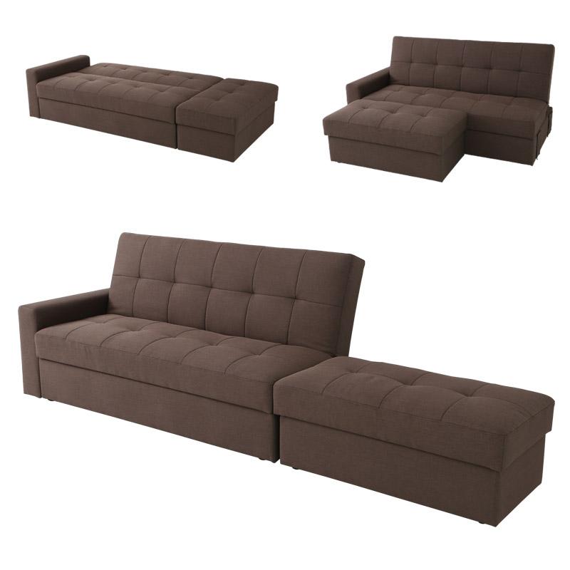 Storage Sofa Bed Bench
