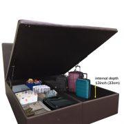 Simple storage bed-1
