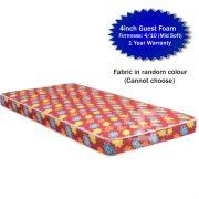 4inch Guest mattress