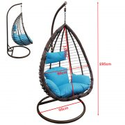 LEA-Swing basket-blue-size