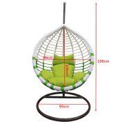 LEA-Swing basket-green-size