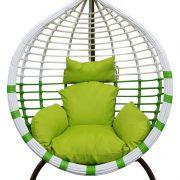 LEA-Swing basket-white-green(2)