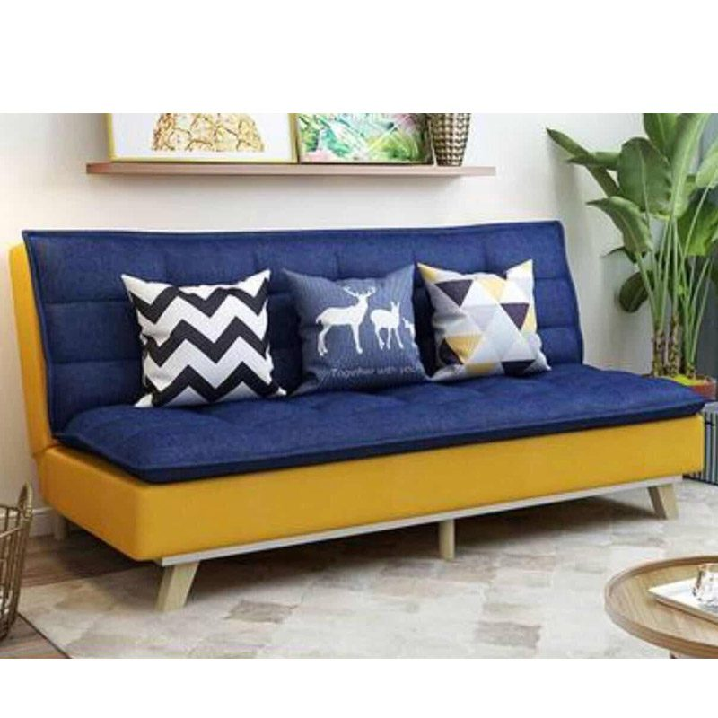 Karyl Sofa Bed Blue Yellow Lcf Furniture Store