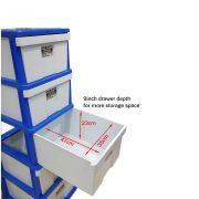 SS-5 tier plastic drawer(3)